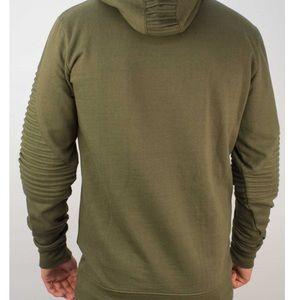 Soul Star Shirts - Soul Star Mens Hooded Sweatshirt MSWPOUND-KHAKI S